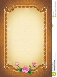 wedding wishes background greeting card with ornamental background and frame stock photo