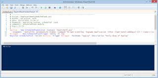 powershell quote list use powershell to create scheduled tasks u2013 hey scripting guy blog