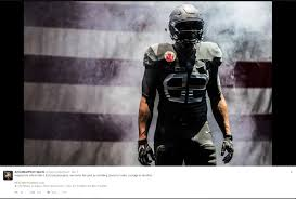 army navy honor past with amazing new uniforms for rivalry game