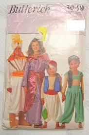 Butterick Halloween Costume Patterns Halloween Arabian Nights Costume Sewing Pattern Children Arabian