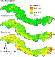 Himalayan Mts Map Spatial Coincidence Of Rapid Inferred Erosion With Young