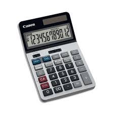calculatrice bureau canon calculatrice de bureau professionnelle 12 chiffres tax tax