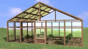 small greenhouse construction building a greenhouse plans youtube