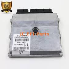 89661 02u75 ecu engine control computer for 2009 2011 toyota