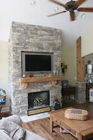 fireplaces dark gray paint and love it on pinterest arafen