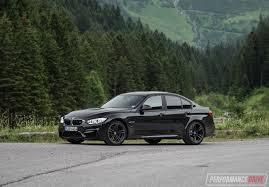 Bmw M3 Blacked Out - 2017 bmw m3 review u2013 german autobahn nurburgring stelvio video