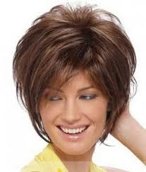 wigs short hairstyles round face haircuts over 50 round face nice looking hairstyles for heavy
