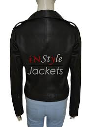 motorcycle style leather jacket stylish biker style kim kardashian leather jacket instylejackets