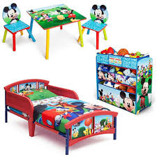 Toddler Bedroom Sets Furniture Delta Children Mickey Mouse 3 Toddler Bedroom Set Sam S Club
