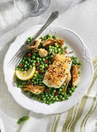 cuisine du poisson poisson croustillant au citron et aux tomates séchées ricardo