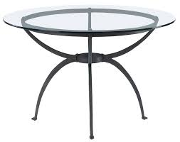 copper top dining room tables home design decorative round iron table cobre bistro with copper
