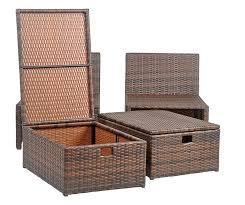 Outdoor Storage Ottoman Bench Ottomans Eucalyptus Adirondack Chair Outdoor Ottoman Round Patio