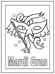get printable mardi gras coloring pages for free with regard to