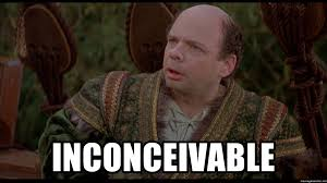Shawn Meme - inconceivable wallace shawn meme generator