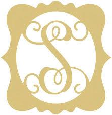 monogram letter s best 25 framed monogram letters ideas on antique