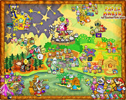 Paper Maps Paper Mario The 1 000 Year Door Map By Silverbuller Deviantart