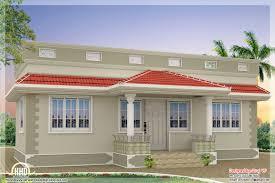 Single Floor Home Plans Style Single Floor Bedroom Home Kerala Design Plans Building