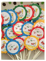 dr seuss baby shower favors dr seuss one fish two fish dr seuss baby shower