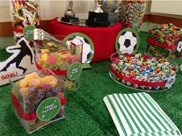 themed l football themed kids party candy buffet candy buffets l sweetie