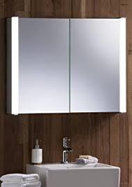 Led Illuminated Bathroom Mirror Cabinet by Led Illuminated Bathroom Mirror Cabinet With Wire Free Demister