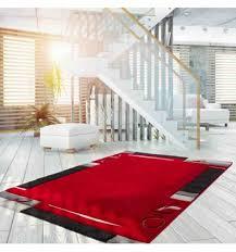 tappeto moderno rosso tappeto moderno lifestyle 132 rosso stile geometrico a partire da