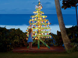 get beachy holiday inspiration from jack johnson u0027s christmas tree