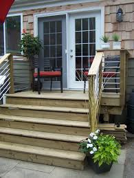 Back Porches Our Back Deck Design Very Cost Effective Used Conduit
