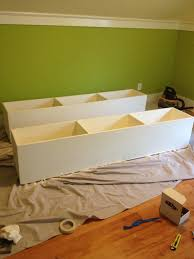 diy bed with storage drawers easy diy and crafts