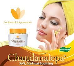 Serum Naavagreen chandanalepa herbal ayurveda whitening 20g sandalwood glowing