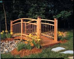 yard bridge garden bridges designs landscape and gardening pinterest