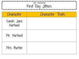 first day jitters activity pack for 2nd 4th grade by learning