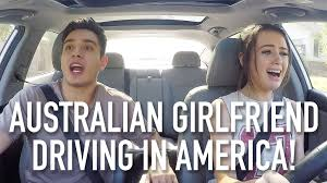 my australian driving in america