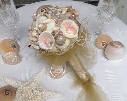 Seashell Bouquet 79 Best Seashell Wedding Bouquet Images On Pinterest Seashell