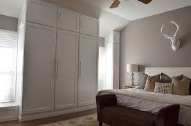How To Build A Bedroom The Happy Homebodies Diy How To Build A Wall Of Closets From Scratch