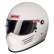 snell approved motocross helmets simpson bandit helmet snell sa2015 fia 8859 gloss white bicycle