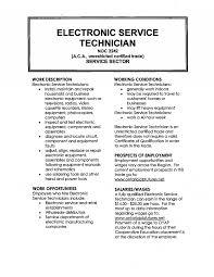Sle Resume by Electronic Tester Sle Resume Technician Boarding