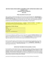 Free Durable Power Of Attorney Florida by Certificate Of Service Form 3 Free Templates In Pdf Word Excel