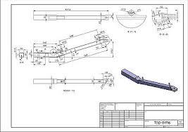 a frame blueprints towing a frame plans to build tow towing dolly car vehicle