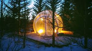 the northern lights inn incredible bubble hotel lets you watch northern lights from bed