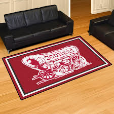 5 8 Area Rugs Of Oklahoma Sooners 5 X 8 Area Rug Carpet Ebay