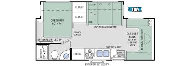 class b rv floor plans luxury class b motorhomes 22 24 nashville rv