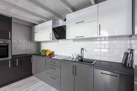 two tone kitchen cabinets white and grey 27 two tone kitchen cabinets stylish design ideas