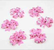hello bows new hello ribbon pinwheel hair bows with clip for girl and