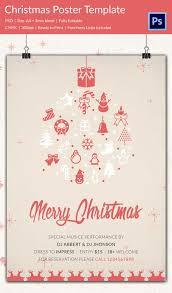 22 christmas posters psd format download free u0026 premium templates