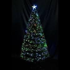 artificial christmas trees multi colored lights 6ft 7ft artificial christmas tree fiber optic pre lit tree led multi