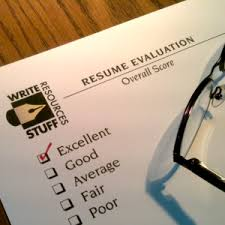 Write Resume Personal Professional Resume Evaluation Write Stuff Resources