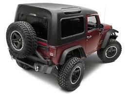 jeep wrangler 2 door hardtop black jeep wrangler jk 2 piece black hardtop 2007 2017 4 door smittlybilt