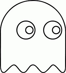 pacman coloring pages print free printable pac man coloring