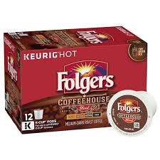 coffeehouse blend k cup pods folgers coffee