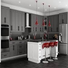 stone grey shaker kitchen cabinets rta cabinet store lalila net